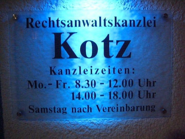 Rechtsanwalt Kotz Siegen