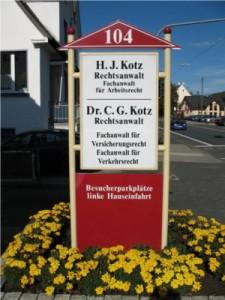 Rechtsanwaltskanzlei Kotz in Kreuztal
