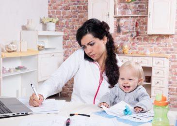 Heimarbeit - Vereinbarung Beruf und Familie