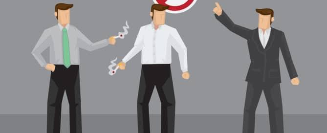 Arbeitszeitbetrug - nicht registrierte Raucherpausen - Kündigung