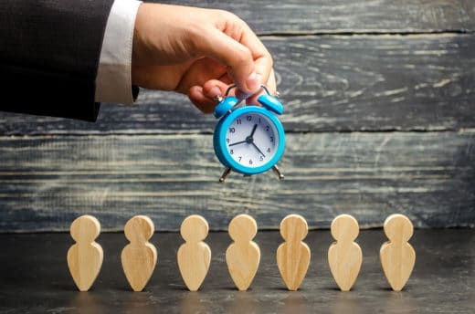 Verringerung der Arbeitszeit