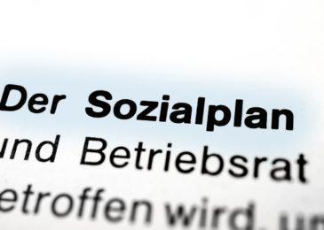 Sozialplan - Gleichbehandlung - beurlaubte Beamte