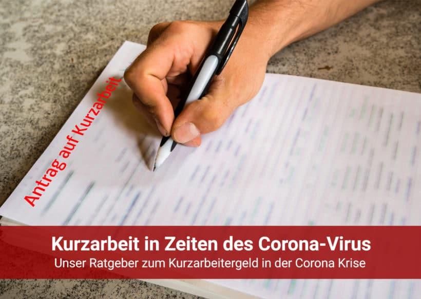 Kurzarbeit Corona-Virus