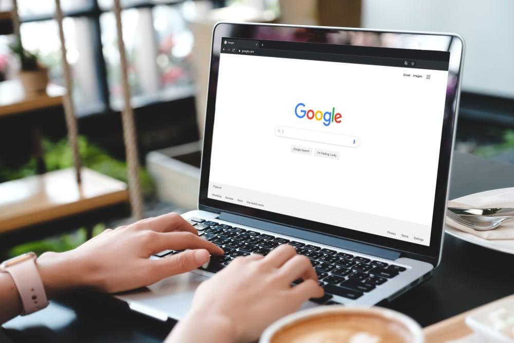 Google Suche am Arbeitsplatz