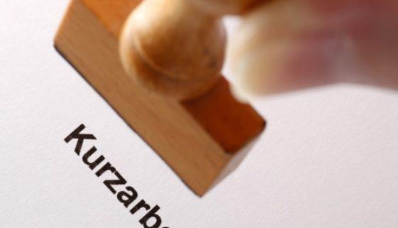 Vereinbarung zur einstweiligen Anordnung von Kurzarbeit - fehlende Ankündigungsfrist